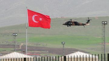 Турецкие ВВС сбили беспилотник на границе с Сирией