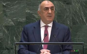 "Elmar Mammadyarov: ""Armenia impedes the conflict resolution process"""