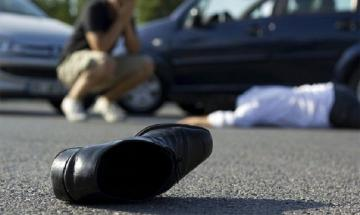 Иностранец сбил пешехода в Баку