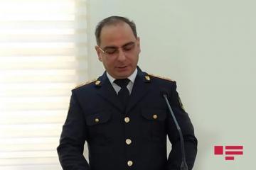Bakı şəhər Baş Polis İdarəsinə rəis müavini təyin edilib