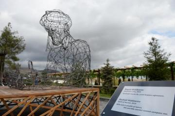 В Шамахе состоялось открытие скульптурной инсталляции «Дух Насими» - [color=red]ФОТО[/color]