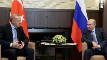 Turkish, Russian leaders discuss COVID-19, Syria on phone