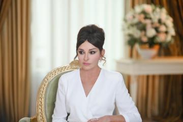 Первый вице-президент Азербайджана Мехрибан Алиева поделилась публикацией в связи с апрельскими боями