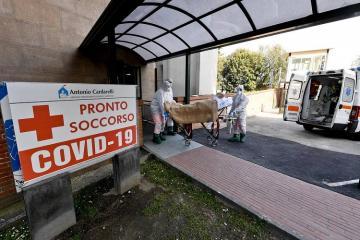 İtaliyada təqribən 14 min insan COVID-19 diaqnozu ilə həyatını itirib