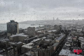 Sabah yağış yağacaq, duman olacaq - [color=red]Proqnoz[/color]