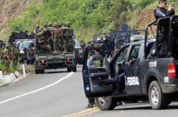 В Мексике 19 человек погибли в перестрелке преступных группировок