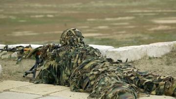 Sniper training being inspected in the Azerbaijan Army - [color=red]VIDEO[/color]