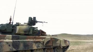 Azerbaijani MoD: Combat readiness of tank crews is inspecting - [color=red]VIDEO[/color]