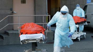 Число жертв коронавируса в США превысило 14 тысяч человек