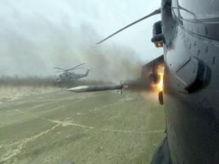Вертолетные подразделения ВВС проводят тренировочные полеты - [color=red]ВИДЕО[/color]