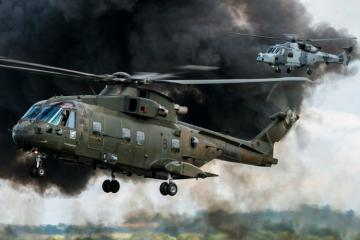 UK Defence Ministry deploys military helicopters across country to ramp up fight against COVID-19