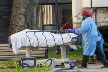 ABŞ-ın Nyu-York ştatında koronavirusdan ölənlərin sayı 9 mini ötüb