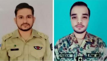 В Пакистане разбился истребитель, оба пилота погибли