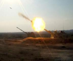 Artilleriya bölmələri döyüş atışları icra edir - [color=red]VİDEO[/color] - [color=red]FOTO[/color]