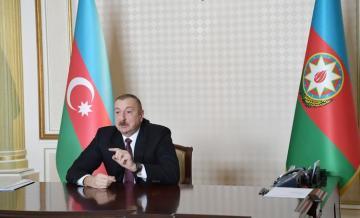 """Prezident İlham Əliyev: """"İlin sonuna qədər sosial sahədə heç bir proqram ixtisar edilməyəcək"""""""