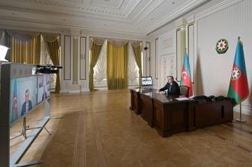 Президент Азербайджана заявил, что число лиц, получающих помощь, будет доведено с 200 тысяч до 600 тысяч