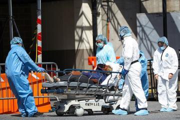 İngiltərədə son sutkada koronavirusa 5850 yoluxma, 596 ölüm halı qeydə alınıb
