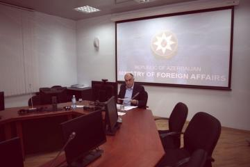 Meeting held between Azerbaijani and Armenian FMs via videoconference - [color=red]UPDATED[/color]