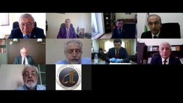 Академии наук тюркского мира обсудили вопросы борьбы с коронавирусом