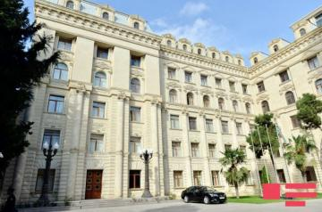 Azerbaijan's MFA: Armenia's claim on not conducting negotiations based on phased solution of conflict is very ridiculous