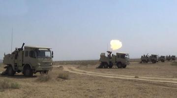 Azerbaijani MoD: Mortar batteries perform combat firing - [color=red]VIDEO[/color]