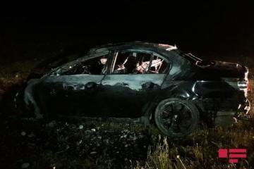 В ДТП в Кюрдамире сгорел водитель - [color=red]ФОТО[/color