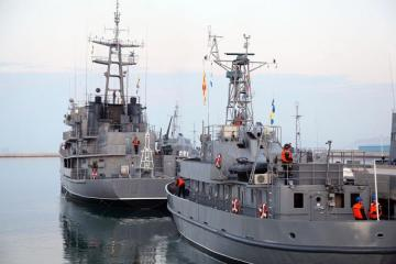 Azerbaijani MoD: Naval Forces start to conduct tactical exercises - [color=red]VIDEO[/color]