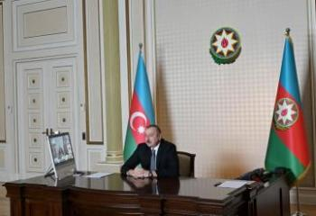 President Ilham Aliyev and President of European Bank for Reconstruction and Development held videoconference