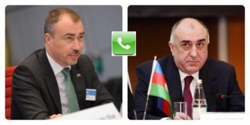 Azerbaijani FM and EU Special Representative for the South Caucasus have telephone conversation