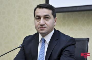 Хикмет Гаджиев: Армения не достигла поставленных целей и ее провокация обернулась полным фиаско