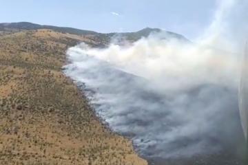 Два человека погибли в результате пожара в Сиязане