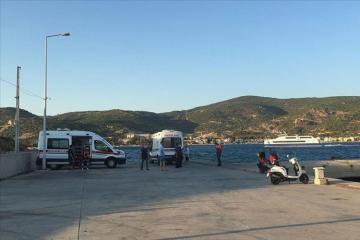 İzmirdə gəmi batıb, 4 nəfər ölüb, bir nəfər itkin düşüb