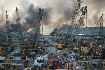 Beyrutdakı partlayışda ölüm sayı 78-ə çatıb, 4 minədək yaralı var - [color=red]FOTO[/color] - [color=red]VİDEO[/color] - [color=red]YENİLƏNİB-7[/color]