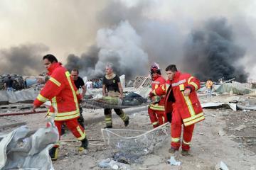 Beyrutdakı partlayışda yaralananlar arasında Türkiyə vətəndaşları da var
