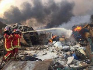 Сейсмологи сравнили взрыв в Бейруте с землетрясением магнитудой 4,5