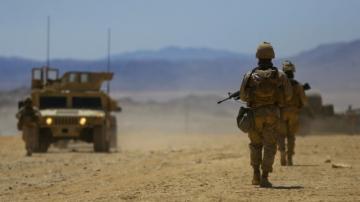 Американская военная база в Сирии попала под ракетный обстрел