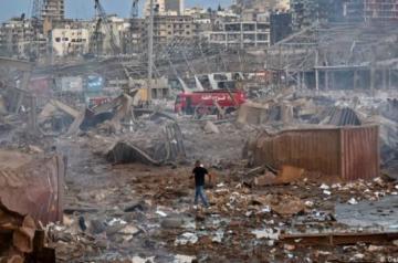 После взрыва в Бейруте задержали 16 человек