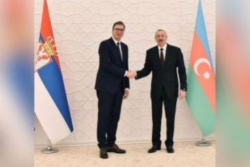 Состоялся телефонный разговор между президентами Азербайджана и Сербии