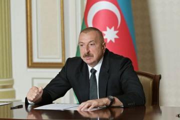 Президент Азербайджана поручил и в августе обеспечить выплату в 190 манатов в регионах с жестким карантином