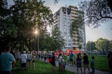 Çexiyada baş vermiş yanğın zamanı 11 nəfər ölüb