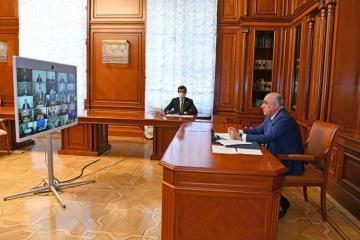 Состоялось Республиканское видеосовещание Оперштаба в связи с карантинным режимом