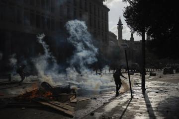В Бейруте демонстранты ворвались в здания двух министерств