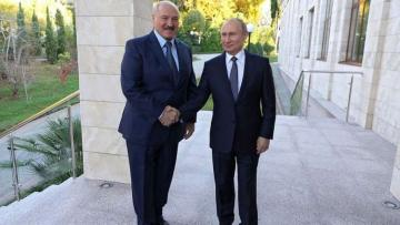 Putin congratulates Lukashenko on victory in Belarusian presidential election