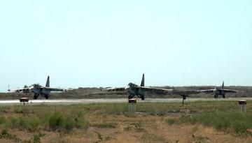 Истребители ВВС Азербайджана и Турции выполнили учебно-тренировочные полёты - [color=red]ВИДЕО[/color]
