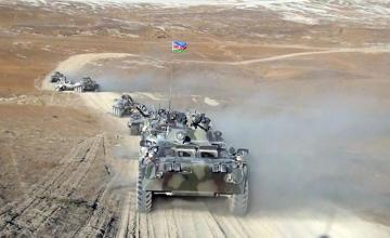 Azerbaijani-Turkish Exercises continue with the participation of units of the Land Forces - [color=red]VIDEO[/color]