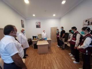 Приехавшие из Китая в Азербайджан медэксперты ознакомились с подготовкой к осенне-зимнему сезону
