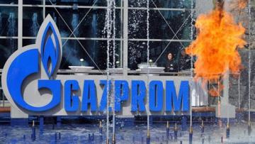 Доходы «Газпрома» от экспорта газа упали вдвое