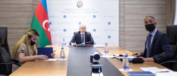 Azerbaijani Minister of Energy discusses implementation status of Khudaferin and Maiden Tower hydro junctions and hydroelectric power plants with his Iranian counterpart