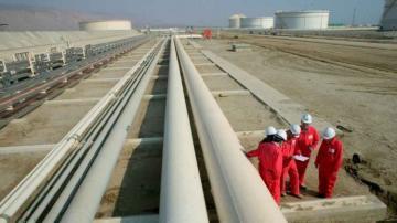 Суточная пропускная способность Южно-кавказского трубопровода составила 32,8 млн кубометров