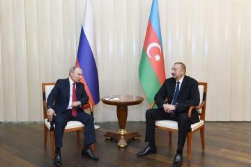 Azerbaijani President brought to Putin's attention that intensification of transportation of military cargos from Russia to Armenia raises concerns and serious questions